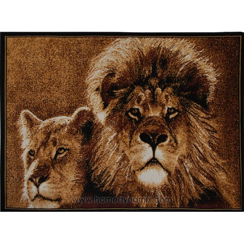 Zone Lion Novelty Rug