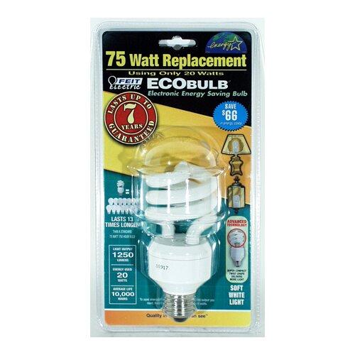 20W Fluorescent Light Bulb