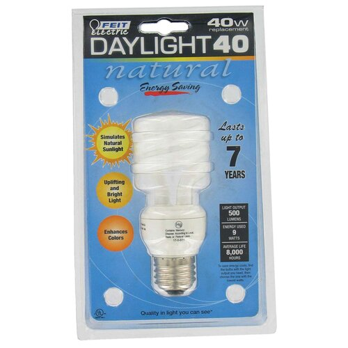 9W Fluorescent Light Bulb