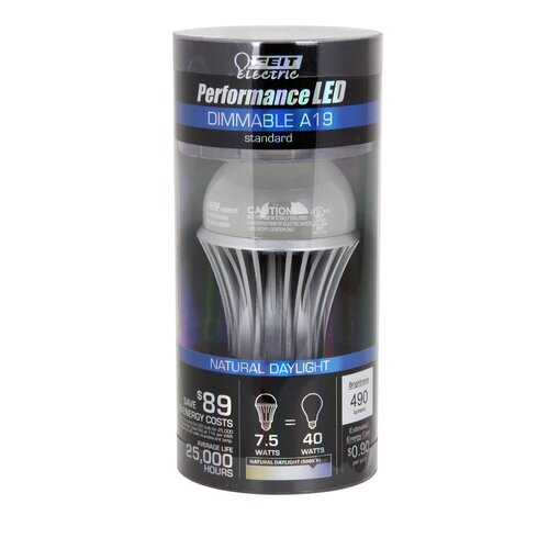 FeitElectric 7.5W (5000K) LED Light Bulb