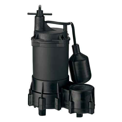1/3 HP Automatic Submersible Effluent Pump