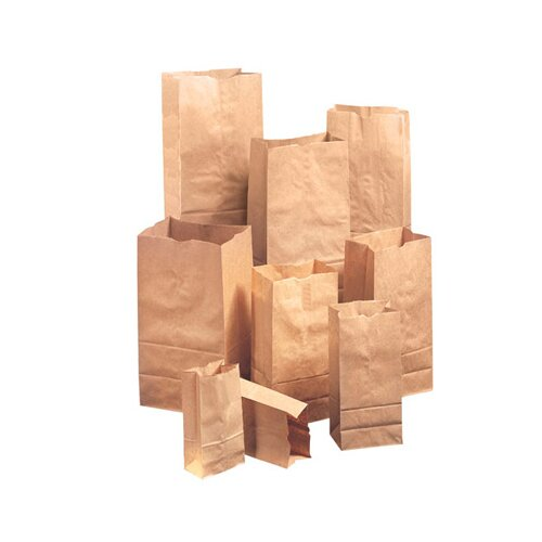 General 8 Kraft Paper Bag in Brown