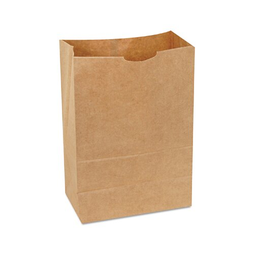 "General 8.25"" Kraft Paper Bag in Brown"