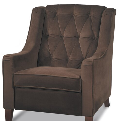 Ave six curves tufted chair reviews wayfair for Avenue six curves tufted chaise lounge