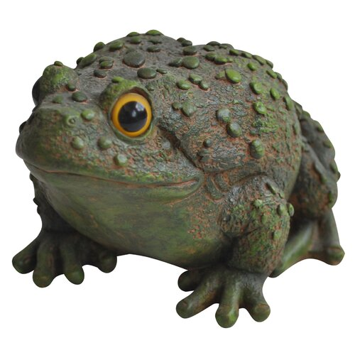 Frog Leaping Garden Statue