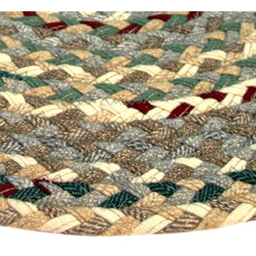Beacon Hill Beige, Green & Burgundy Multi Runner Rug