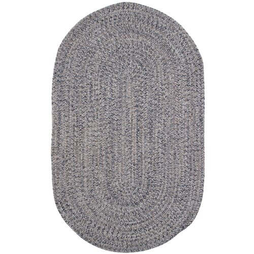 Town Crier Blue Heather Indoor/Outdoor Rug