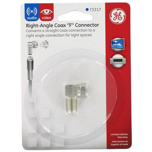 Jasco Right Angle Coax F Connector
