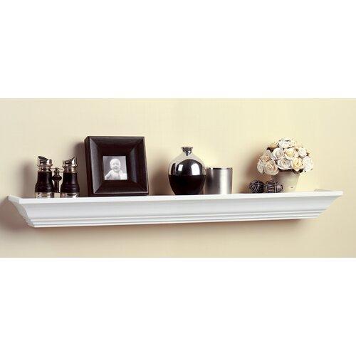 Knape&Vogt Shelf-Made Images Wood Display Ledge