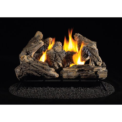 "KozyWorld 24"" Vent-Free Dual Fuel Log Set"