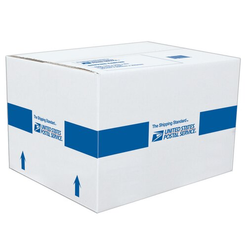 "Lepages 12"" x 10"" x 8"" USPS Shipping Carton"