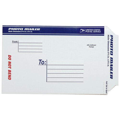"Lepages 8.5"" USPS Photo Mailer"