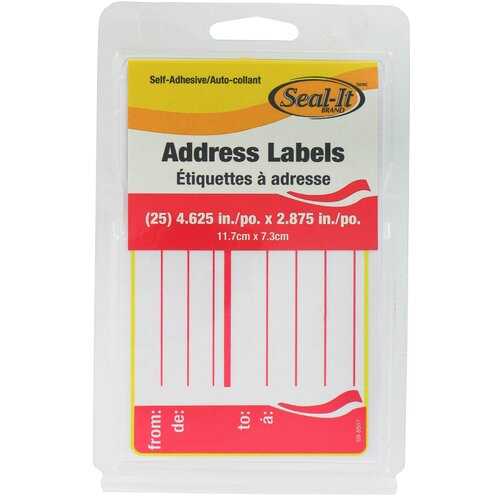 Lepages 25 Count Address Label