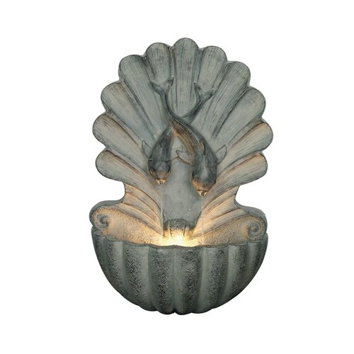 Galatea Outdoor Resin Wall Fountain