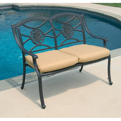 Alfresco Home Lista Outdoor Bench