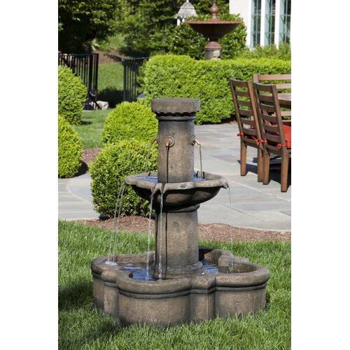 Alfresco Home Apollo Outdoor Resin Tiered Fountain