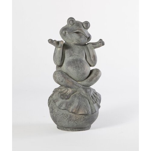 Care Free Frog Statue