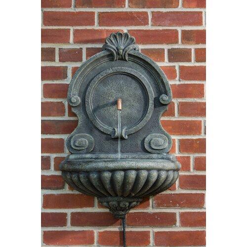 Alfresco Home Vicenza Outdoor Resin Wall Fountain