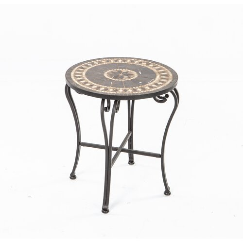 Alfresco Home Gibraltar Mosaic Side Table