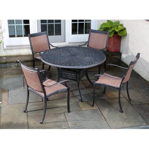 Alfresco Home Pilot 5 Piece Dining Set