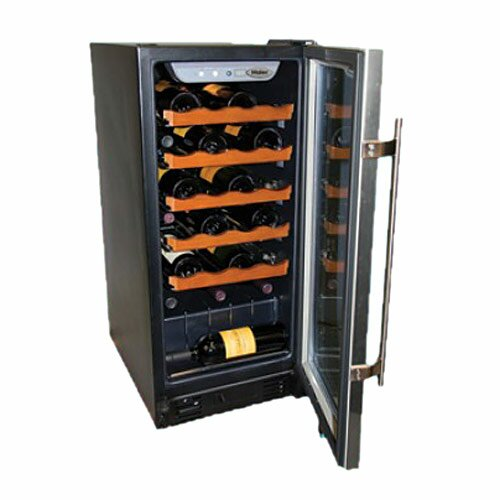 26 Bottle Single Zone Built-In Wine Refrigerator