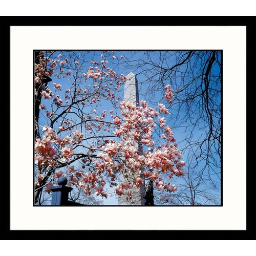 Great American Picture National Treasures Bunker Hill Monument Framed Photographic Print