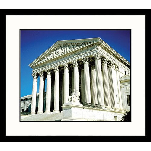 Great American Picture National Treasures Supreme Court Framed Photographic Print