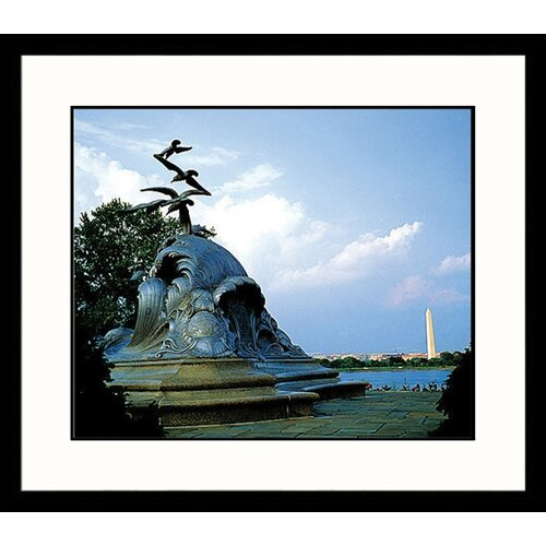 Great American Picture National Treasures Marine Memorial Framed Photographic Print
