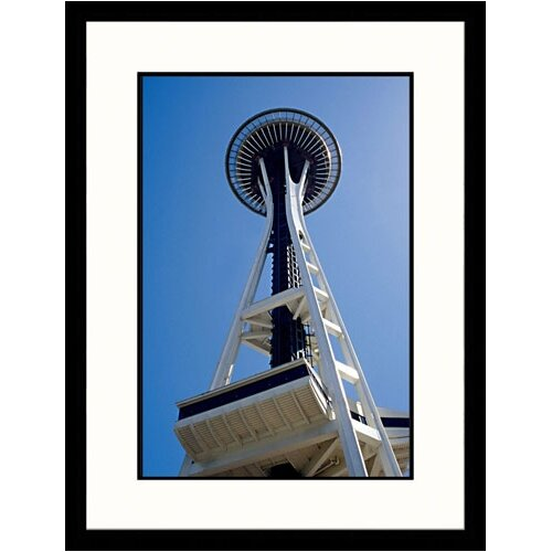 National Treasures The Space Needle, Seattle, Washington Framed Photographic Print