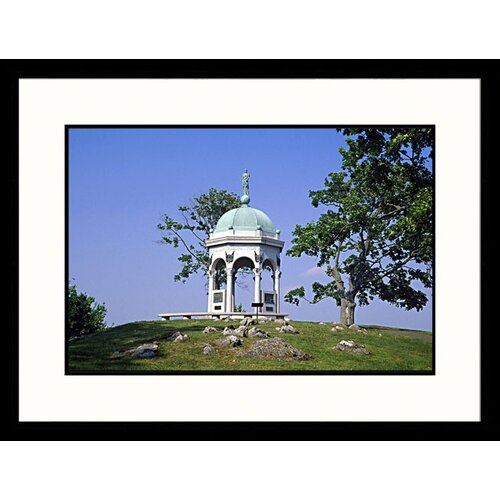 Great American Picture National Treasures Civil War Monument, Maryland Framed Photographic Print