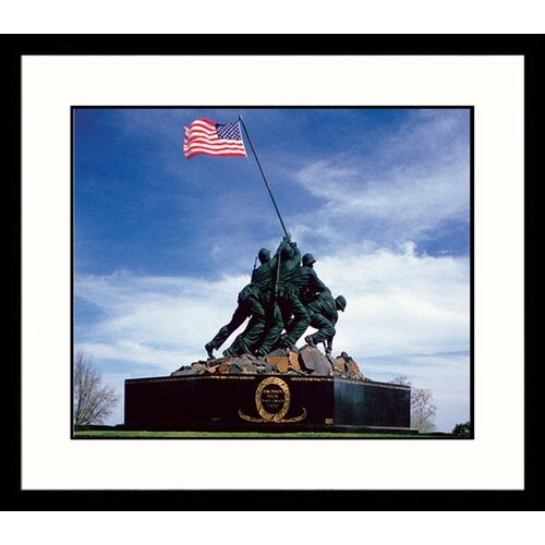 Great American Picture National Treasures Iwo Jima Framed Photographic Print