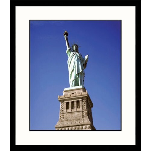 Great American Picture National Treasures Statue of Liberty Framed Photographic Print