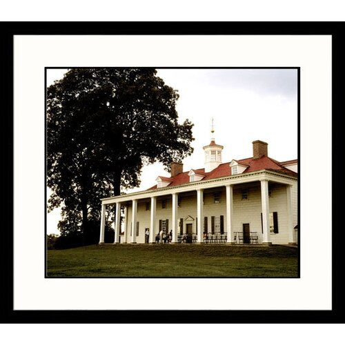 Great American Picture National Treasures Mount Vernon Framed Photographic Print