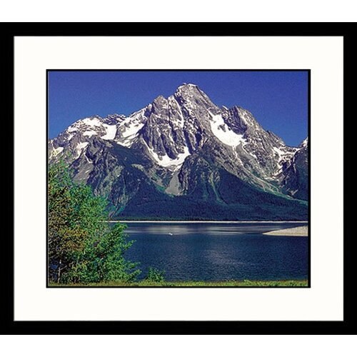 National Treasures Grand Tetons Framed Photographic Print