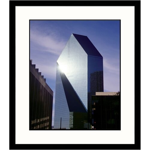 Great American Picture Cityscapes Dallas Framed Photographic Print
