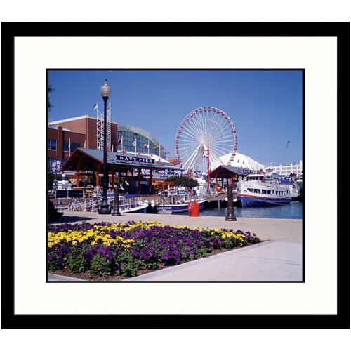 Cityscapes Navy Pier Framed Photographic Print