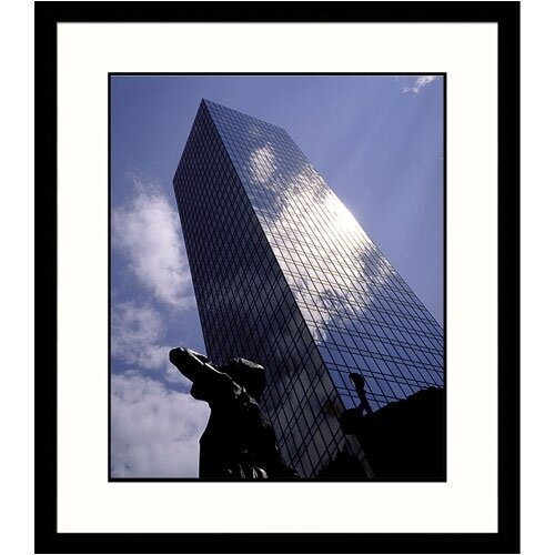 Great American Picture Cityscapes Charlotte Skyscraper Framed Photographic Print