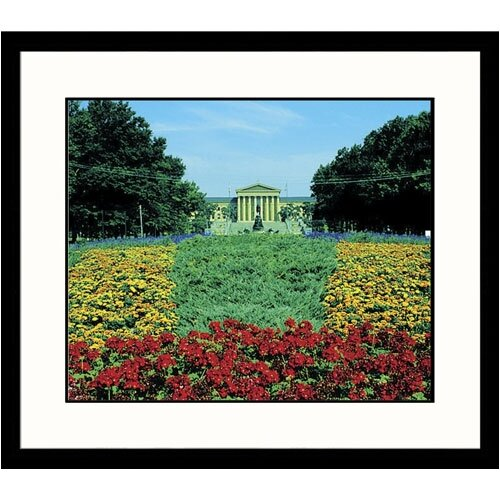 Cityscapes Art Museum Spring Framed Photographic Print