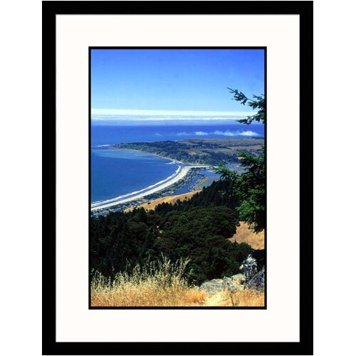 Great American Picture Seascapes 'Stinson Beach, California' by Barbara Haynor Framed Photographic Print