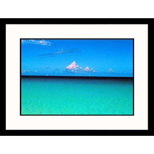 Great American Picture Seascapes 'Sea and Sky' by MaryAnn and Bryan Hemphill Framed Photographic Print