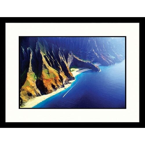 Great American Picture Seascapes Hawaii Coast Framed Photographic Print