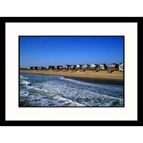 Seascapes 'Beachfront Homes' by Barry Winiker Framed Photographic Print