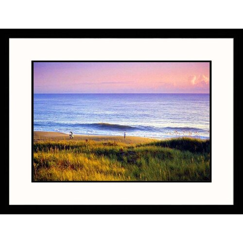 Great American Picture Seascapes 'Outer Banks North Carolina' by Manrico Mirabelli Framed Photographic Print