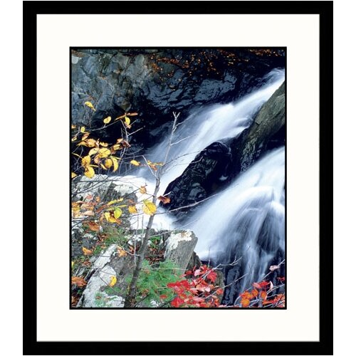 Seascapes Rushing Falls Framed Photographic Print
