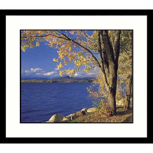 Great American Picture Seascapes Lake Ossipee Framed Photographic Print