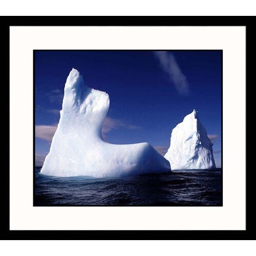 Great American Picture Seascapes Drifting Iceberg Framed Photographic Print