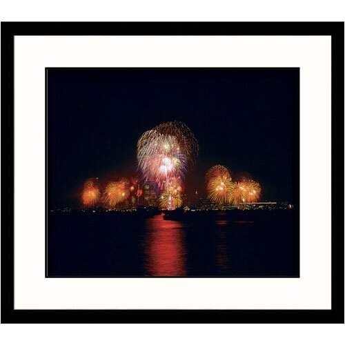 Great American Picture Cityscapes Liberty Celebration Framed Photographic Print