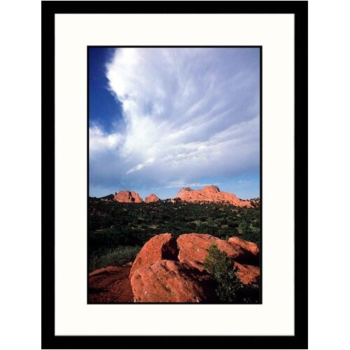 Great American Picture Landscapes 'Garden of the Gods, Colorado Springs, Colorado' by Stewart Cohen Framed Photographic Print