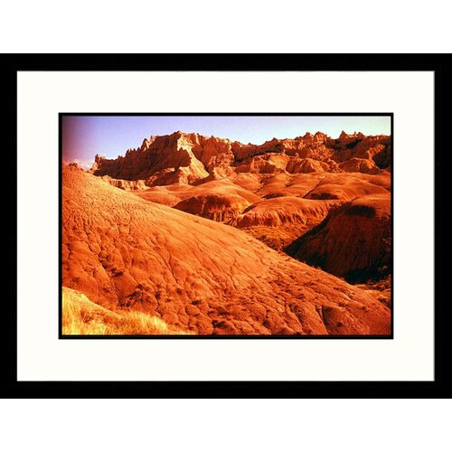 Landscapes 'Badlands Rock - New Mexico, South Dakota' by Josh Mitchell Framed Photographic Print