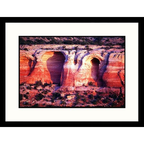 Landscapes 'Rattlesnake Canyon - Colorado New Mexico / Colorado' by Dennis Curran Framed ...